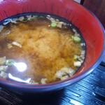 さくとん - 味噌汁