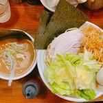 139180979 - 4種の魚のつけ麺 - 特盛(850円)