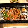 ふじ原 - 料理写真:八寸  鱧の皮の炙り、山クラゲ、小芋の煎り雲丹がけ、蓮根と牛肉のきんぴら、四方竹の煮物
