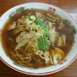 こばや食堂 - スープ入り焼きそば(並)(700円)