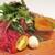 サラマンジェ ドゥ カジノ - 料理写真:前菜・家内:トマトのムースと秋茄子のムース ズワイガニのゼリー寄せ。     2020.10.05