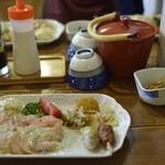 西穂山荘 - 夕食