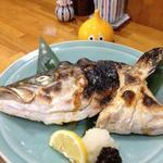 和食かたおか - お頭焼き、かなり食べ出があります