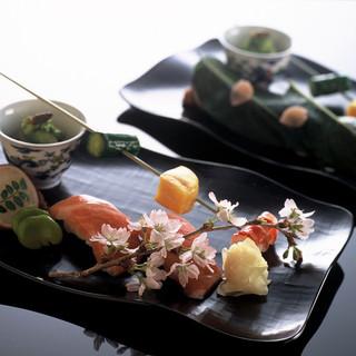 旬の素材を楽しめる本格京料理