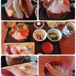 千代寿司 - 料理写真:Aセットコラージュ