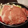 食房 杵 - 料理写真:キャンペーンのすき焼きセット ¥3,300