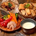 肉バルGABURICO - チーズフォンデュセット