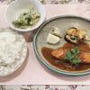 ふらんす屋 - 料理写真:日替りランチ 鮭のムニエル(オニオンソース)