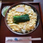 上州屋 - 卵とじうどん