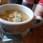 プティ・ポア - カレーのお味噌汁