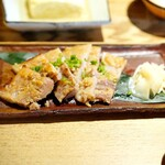 ごはんや一芯 - 豚バラ西京焼き