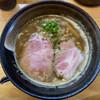 中華そば おしたに - 料理写真:【期間数量限定】秋刀魚と鶏の白湯そば 900円(2020年10月) めちゃくちゃ美味しい!