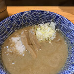 自家製麺 TANGO - グツグツ煮立ってた。