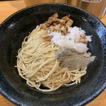 自家製麺 TANGO - 和え玉煮干