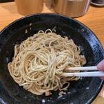 自家製麺 TANGO - 混ぜ混ぜ…