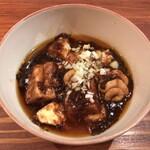 Uochainayou - 旨辛!魚介ミンチの白子入り麻婆豆腐