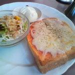 羅座亜留 - チーズトースト