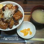 豚公司 堀江 - 赤身肉ぶた丼 700円