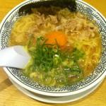 丸源 - 肉そば682円