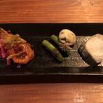 Uochainayou - 前菜3種盛合せ