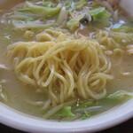 中華料理 再光軒 - タンメンの麺