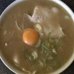 佐賀ラーメン いちげん。 - 『玉子入りラーメン   730円なり』