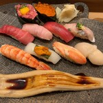 築地玉寿司 - 七福にぎり