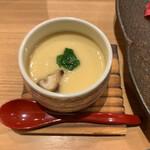 築地玉寿司 - 七福にぎりに付く茶碗蒸し