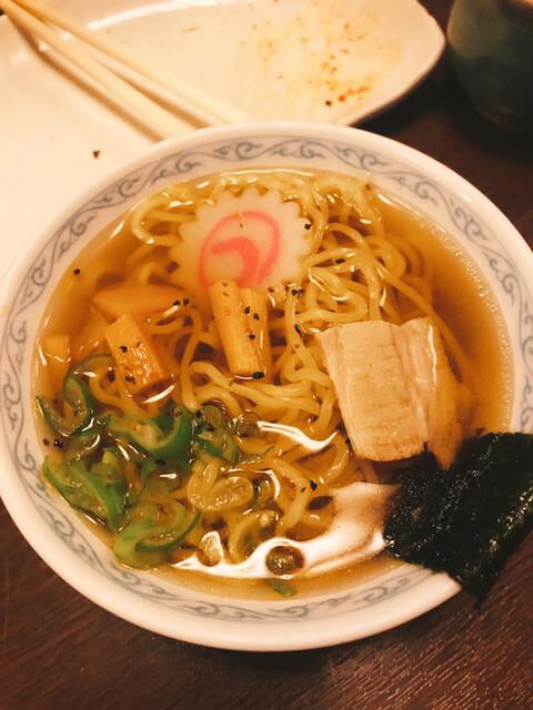 七味亭の料理の写真