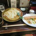 活麺富蔵 - 竹玉野菜付きざる盛り 1200円