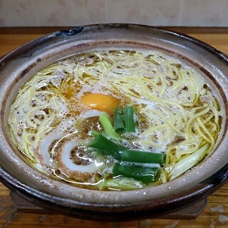 橋本食堂 - 料理写真:なべ焼きラーメン 並