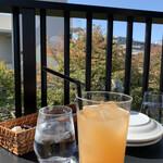 ピッツェリア&トラットリア アイドリック - グレープフルーツジュース