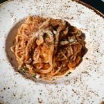 ピッツェリア&トラットリア アイドリック - 本日のパスタ トマト系