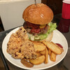 エヌオーエヌハンバーガーカフェ - 料理写真:Wビーフバーガーのビック 1400円 おおきいです!
