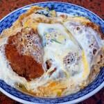 金屋食堂 - 料理写真:これがスタンダードなカツ丼です((o(^∇^)o))