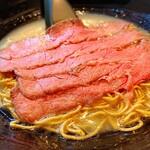 道玄 - チャーギュウメン(白醤油)