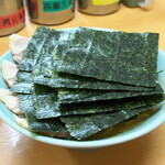 極楽汁麺 らすた - 料理写真:チャーシューメン900円+のり100円