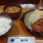 とんかつ 仙川 - 料理写真:
