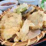 銀たちの郷 - 天ぷら盛り