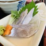 銀たちの郷 - 太刀魚刺身