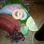 串ゆう - 赤シャツコースのお刺身2種盛りです
