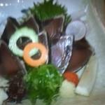 串ゆう - カツオのたたきです