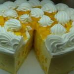 ハーブス 丸ビル店 - アップルマンゴーのケーキ(SEASON'S SPECIAL)