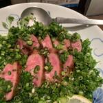 新料理 都留野 - たんタタキ