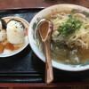 おてび - 料理写真:中華そば+おにぎり