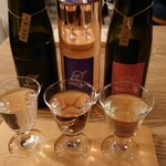 ウィム サケ アンド タパス - 三軒茶屋醸造所 FONIA 3種飲み比べセット