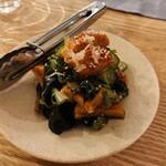 ウィム サケ アンド タパス - 鰻ときゅうりの酢の物