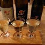 ウィム サケ アンド タパス - フランスSAKE3種飲み比べセット