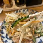 沖縄食堂チャンプル×チャンプル - ゴーヤチャンプルーリフトアップ!