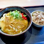 さぬき麺市場 - カレーうどんと肉皿盛